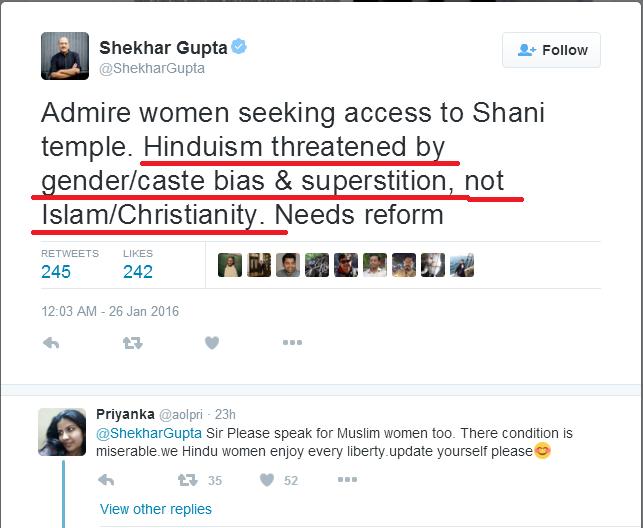 Media Bias Against Hindus