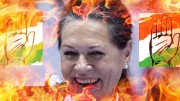 Sonia Burning Bharat Jihadis Congress Anti-Hindu