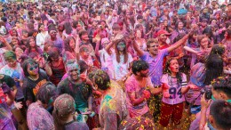 VHP Thailand's Holi Celebrations