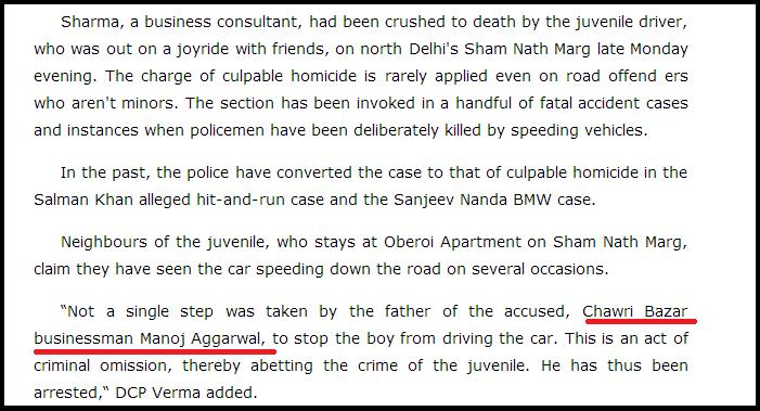 Juvenile Driving Mercedes Kills Man