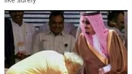 Doctored Image of Modi 1