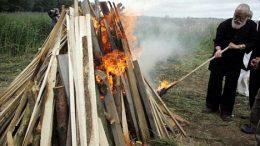 Hindu Cremation