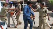 Hindu Raksha Dal attacked by police