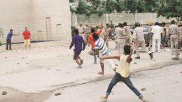 Noida Society Attacks