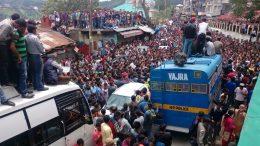 rape & murder protests