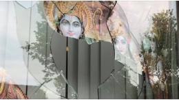 Hindu Temple Vandalised