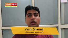 Agniveer president Vashi Sharma