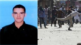 Soldier killed by stone pelters